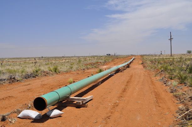 Mapping Permian Basin pipelines toward horizon