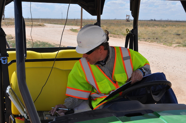 Pipeline safety remotely entering data from the feild